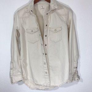 Pins and Needles Denim Cotton Shirt